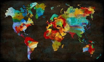 Color My World-Russell Brennan-Art Print