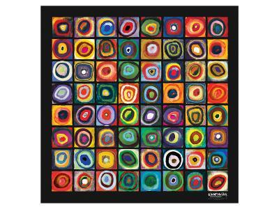 Color of Squares-Wassily Kandinsky-Premium Giclee Print