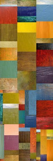 Color Panels with Water and Waves-Michelle Calkins-Art Print