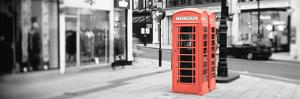 Color Pop, Phone Booth, London, England, United Kingdom, Living Coral