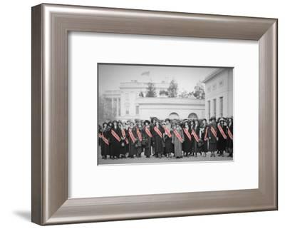 Color Pop, Rudolph Valentino and His 88 American--Framed Photographic Print