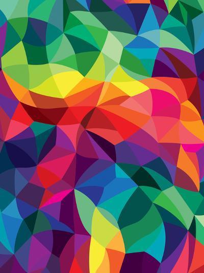 Color Shards-Joe Van Wetering-Art Print