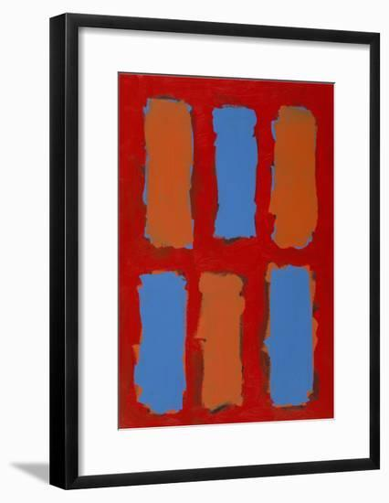 Color Study 2-Lee Crew-Framed Premium Giclee Print