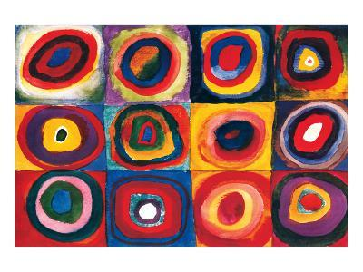Color Study of Squares-Wassily Kandinsky-Premium Giclee Print