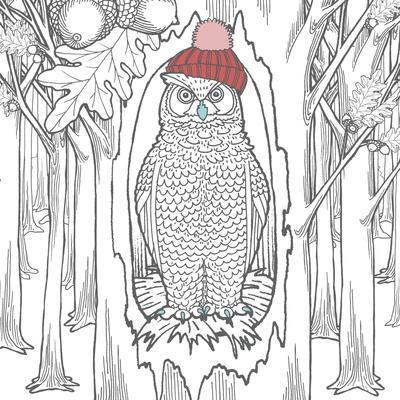 Color The Forest Color V Art Print Elyse Deneige Art Com