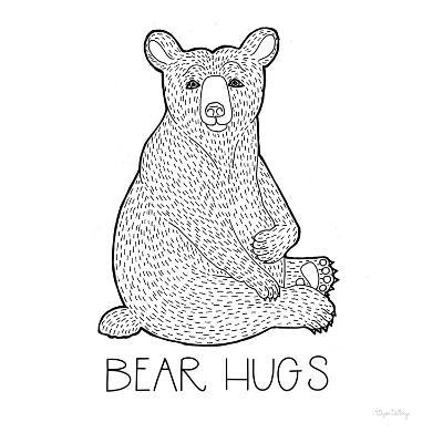 Color the Forest I Bear Hugs-Elyse DeNeige-Art Print