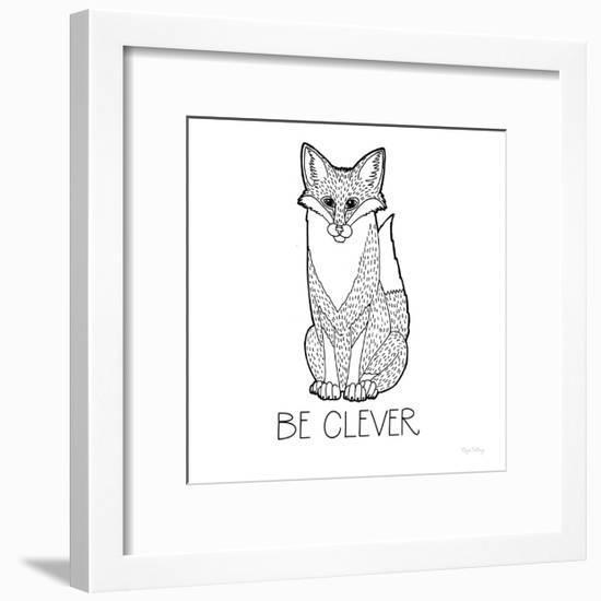 Color the Forest IV Be Clever-Elyse DeNeige-Framed Art Print