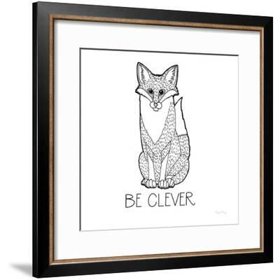 Color the Forest IV Be Clever-Elyse DeNeige-Framed Art Print
