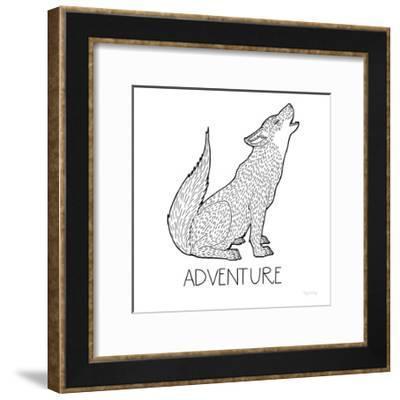 Color the Forest VI Adventure-Elyse DeNeige-Framed Art Print