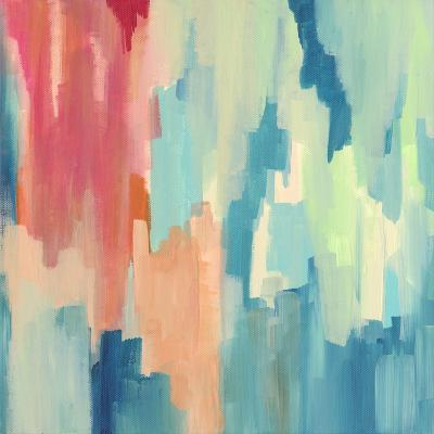 Color Theory Abstract-Jennifer McCully-Giclee Print