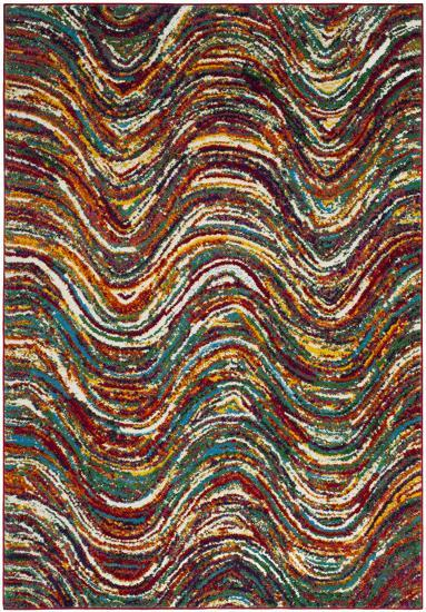 """Color Waves Area Rug - 5'3"""" x 7'6""""--Home Accessories"""