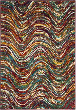 """Color Waves Area Rug - 5'3"""" x 7'6"""""""