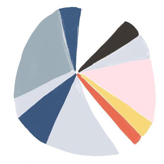 Color Wheel II-June Erica Vess-Art Print