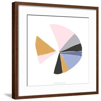 Color Wheel III-June Erica Vess-Framed Art Print