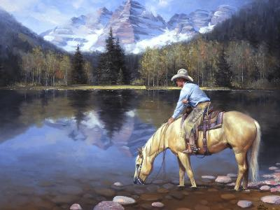 Colorado Cowboy-Jack Sorenson-Art Print