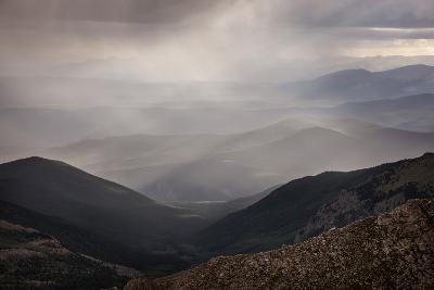 Colorado, Front Range. Storm Clouds over Mt. Evans Wilderness Area-Jaynes Gallery-Photographic Print