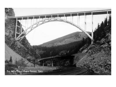 Colorado - New Eagle River Bridge near Red Cliff-Lantern Press-Art Print