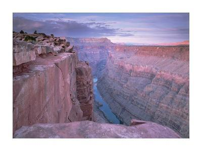 Colorado River from Toroweap Overlook, Grand Canyon National Park, Arizona-Tim Fitzharris-Art Print