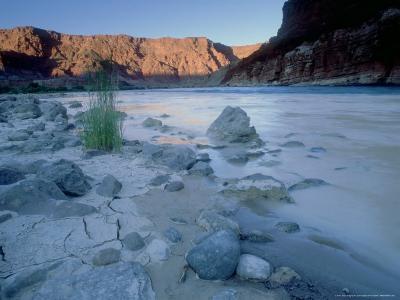 Colorado River, Glen Canyon, Arizona, USA-Olaf Broders-Photographic Print