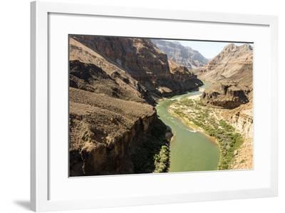 Colorado River. Grand Canyon. Arizona. USA-Tom Norring-Framed Photographic Print