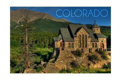 Colorado - St. Malos Chapel-Lantern Press-Art Print