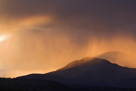 Colorado. Sunset in Stormy Rocky Mountains-Jaynes Gallery-Photographic Print