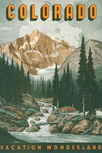 Colorado Travel Poster