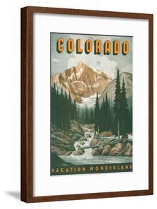 Colorado Travel Poster