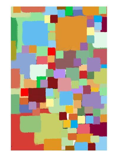 Coloratura XII-Yashna-Art Print