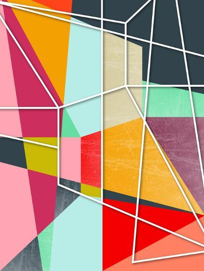 Colorblock V-Susana Paz-Art Print