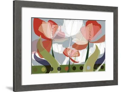 Colored Glass-Kara Boulden-Framed Giclee Print