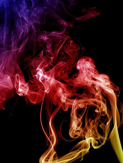 Colored Smoke-Alekss-Photographic Print