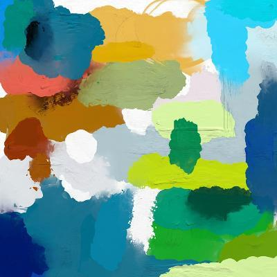 Colored Spots, Which are Arranged on a Plane-Dmitriip-Art Print