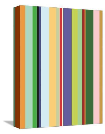 Colorfield Stripe-Dan Bleier-Stretched Canvas Print