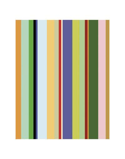Colorfield Stripe-Dan Bleier-Art Print