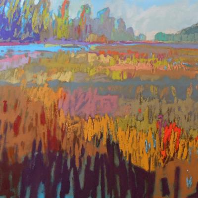 Colorfield XXII-Jane Schmidt-Art Print