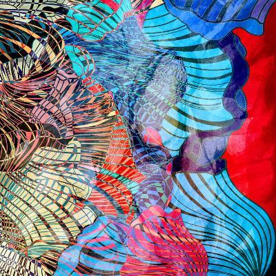 Colorful Abstract Background-tanor27-Art Print