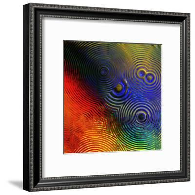 Colorful Abstract I-Jean-François Dupuis-Framed Art Print