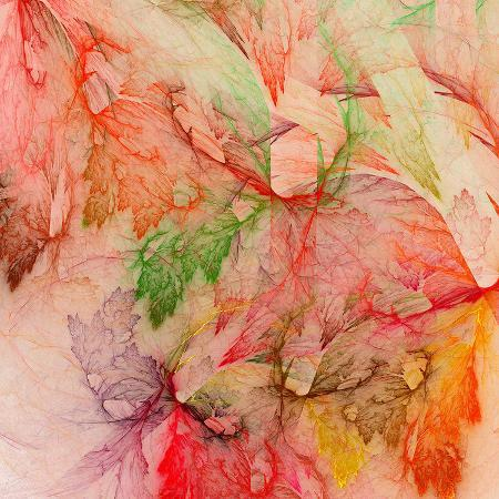 colorful-abstract-leaf-collage