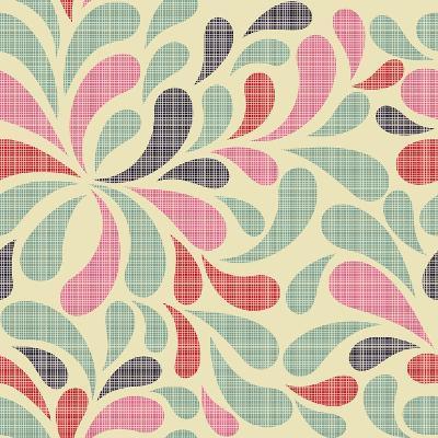 Colorful Abstract Seamless Pattern-Nataliia Kucherenko-Art Print