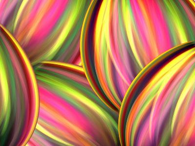Colorful Abstract- judwick-Art Print