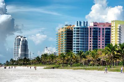 Colorful Architecture - Miami Beach - Florida-Philippe Hugonnard-Photographic Print