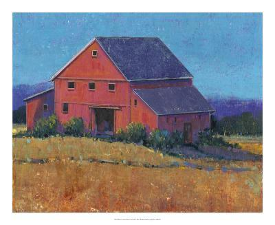 Colorful Barn View II-Tim O'toole-Art Print