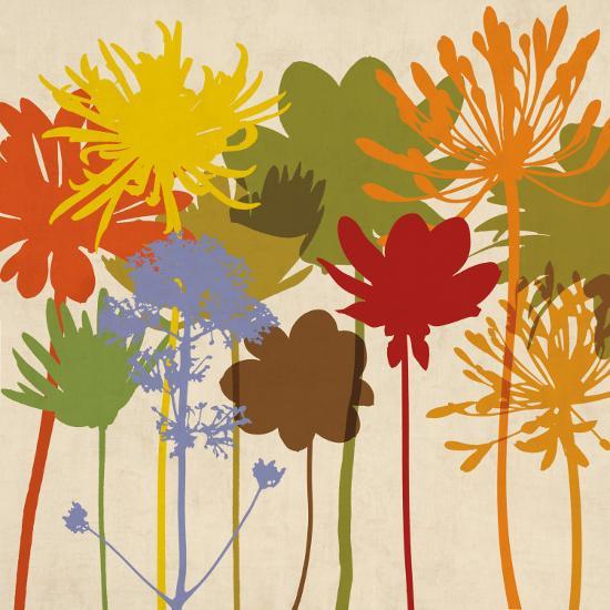 Colorful Bloom I-Erin Lange-Art Print