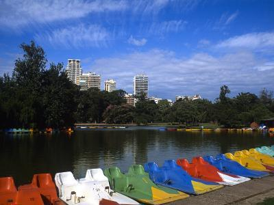 Colorful Boats, Palmero, Buenos Aires, Argentina-Bill Bachmann-Photographic Print