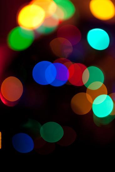 Colorful Bokeh-Erin Berzel-Photographic Print