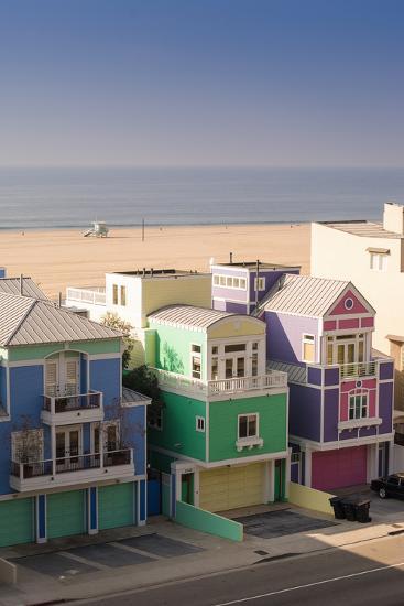 Colorful Buildings in Seaside Town-Cultura Travel/Antonio Saba-Photographic Print