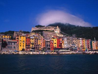Colorful Buildings on Waterfront of Portovenere, Italy-Julie Eggers-Photographic Print