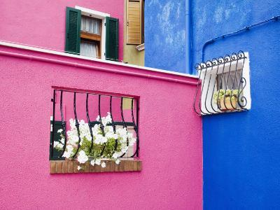 Colorful Burano City Homes, Italy-Terry Eggers-Photographic Print