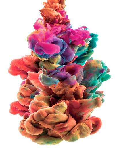 Colorful Color Drop-sanjanjam-Photographic Print